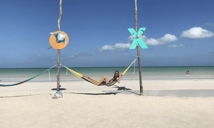 Hangmat op Isla Holbox Mexico