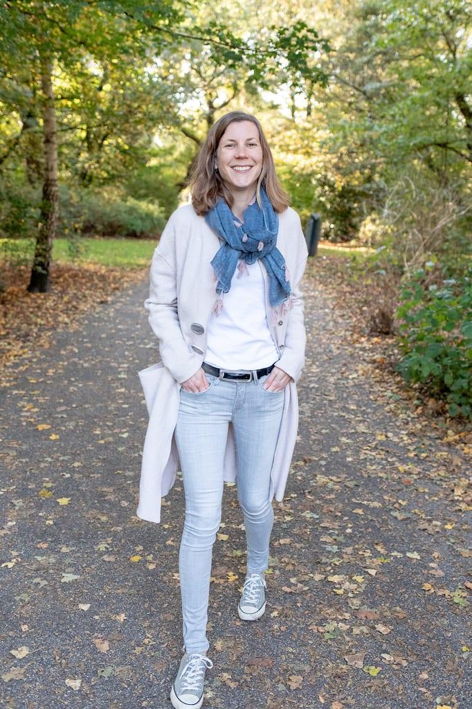 Foto van Marijn Driesen in het Oosterpark in Amsterdam